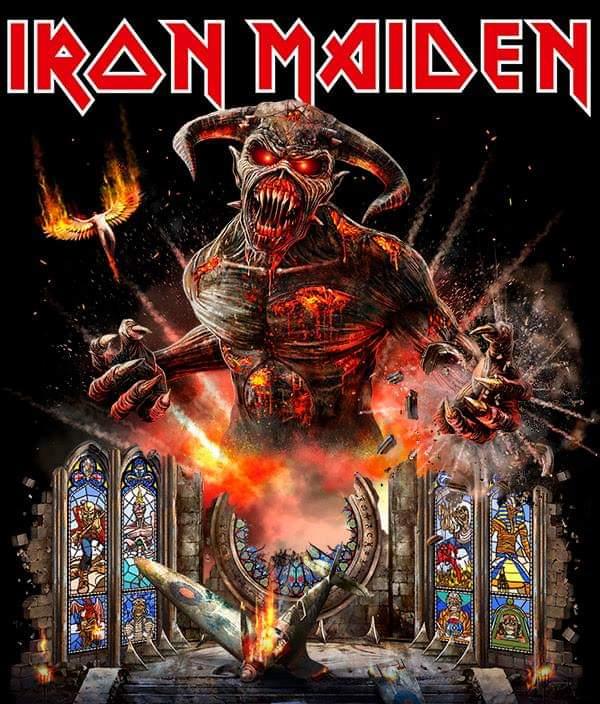 HEAVY-ROCK BOOTLEGS: Iron Maiden 2018 Legacy of the Beast World Tour