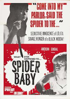 Portada película Spider Baby