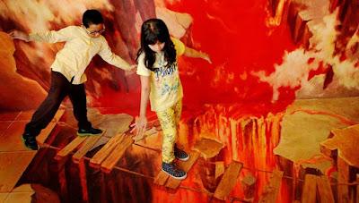 Menikmati Sensasi Berfoto Sampai Puas Di De Mata Trick Museum