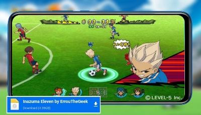 تحميل لعبة ابطال الكرة الفرسان inazuma eleven Go للاندرويد من ميديا فاير