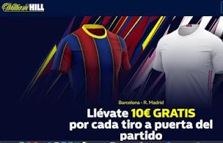 william hill promo clasico Barcelona vs Real Madrid 24-10-2020