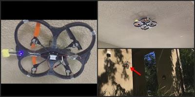 [Video] Dengan Perkembangan Teknologi Drone Ini Bisa Mendarat Di Dinding