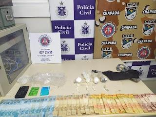 Droga e dinheiro em Andaraí