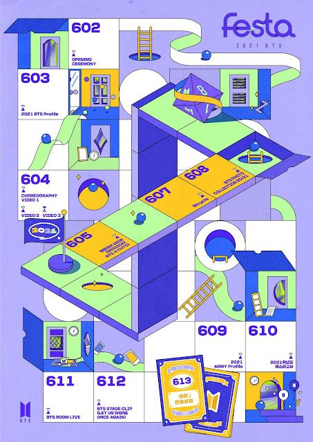 BTS celebra su octavo aniversario con FESTA 2021