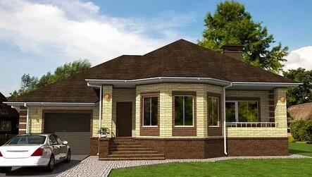 Modern one-story houses