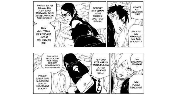 Boruto Chapter 41 : Spoiler Tanggal Rilis Resmi pembahasan manga