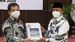 Pemkot Tanjungbalai Raih Opini WDP Atas LKPD TA 2020 Dari BPK RI