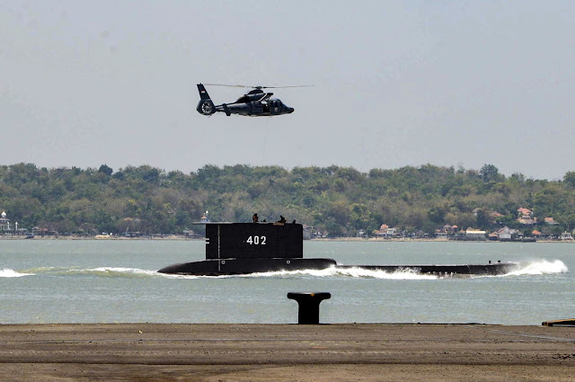 Al largo di Bali, persi i contatti con un sottomarino, 53 le persone a bordo