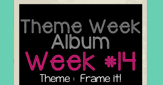 "Theme Week - Frame it - Tony ""You are so cool!"""