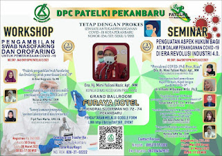 Seminar dan Workshop DPC PATELKI PEKANBARU 2021