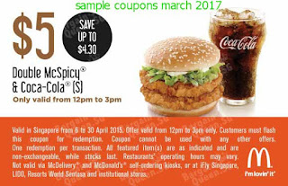 Mcdonalds coupons for march 2017