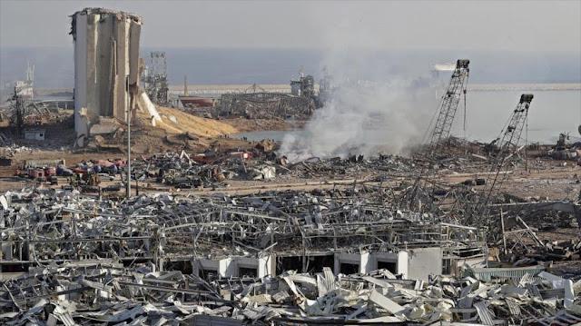 Critican a Trump por sugerir que lo ocurrido en Beirut fue 'ataque'