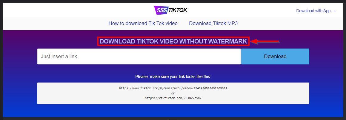 ssstiktok fitur download video tiktok tanpa watermark