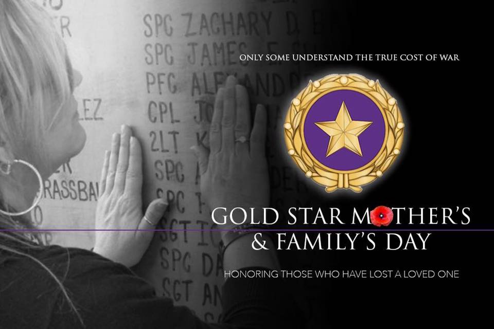 Gold Star Mother's and Family Day Wishes pics free download
