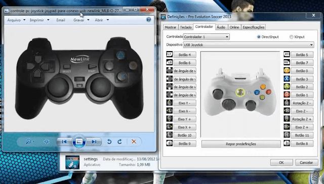 Bermain PES 2013 Dengan Joystick