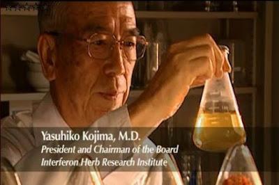 pencipta nutriferon shaklee dr yasuhiko kojima