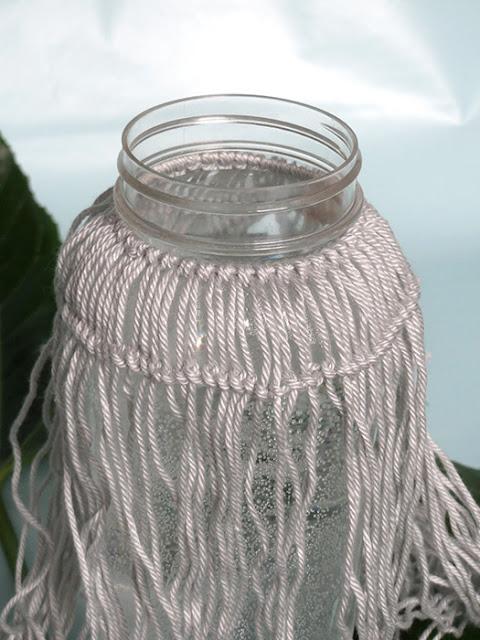 Knoten für eine Vase im Boho Style