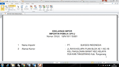 Panduan Buat Izin-Persetujuan Import -PI-Kehutanan Indonesia