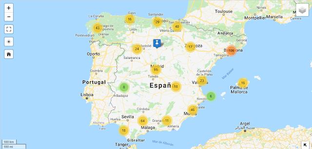 Red de Gasolineras con Autogas / GLP