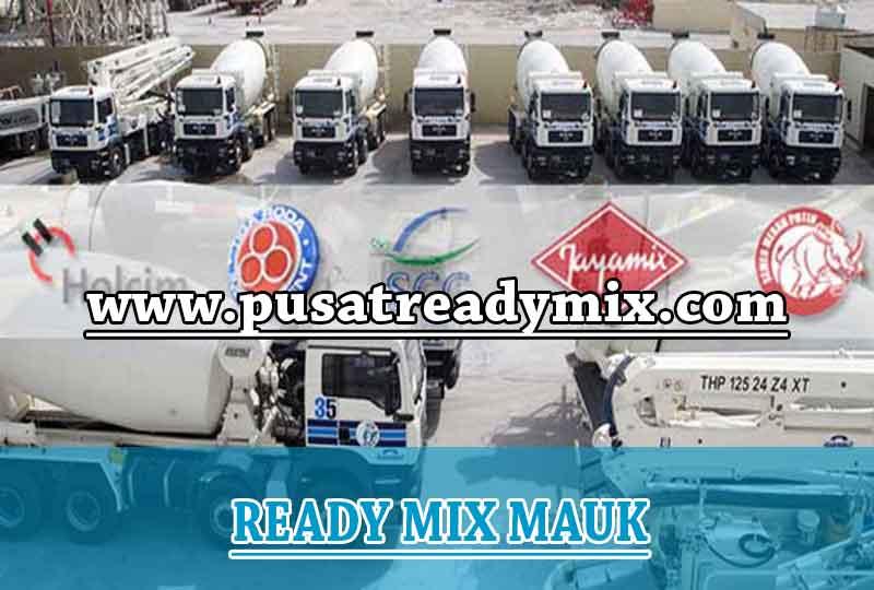 Harga Beton Ready mix Mauk 2020