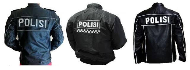 Gambar Jaket Kulit Polisi BM Patwal