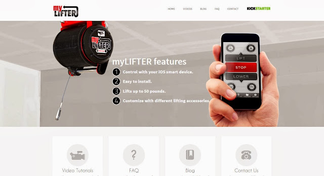 Lift upto 50 Pounds weight with MyLifter iOS app and Bluetooth 4.0