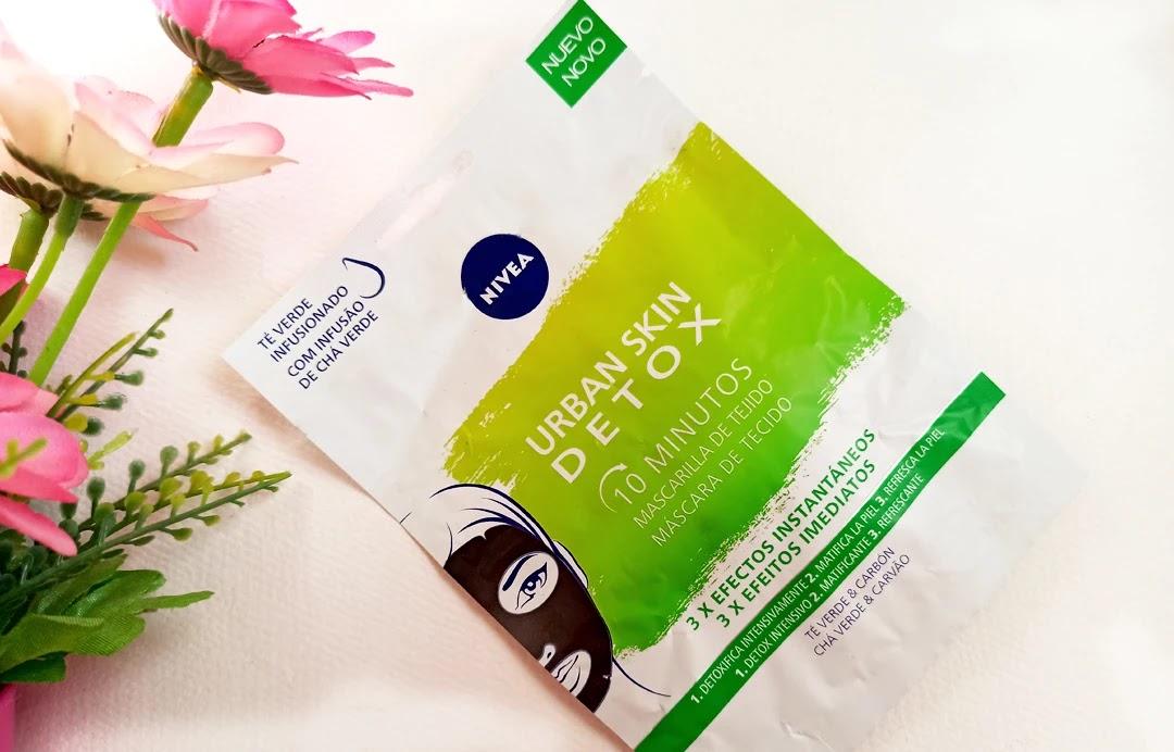 Nivea Urban Skin Detox Υφασμάτινη Μάσκα