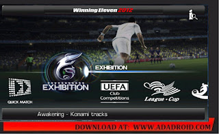 Winning Eleven 2012 Mod Apk 2020 Winter Transfer