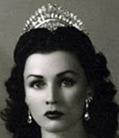 diamond tiara princess fawzia egypt iran van cleef and arpels