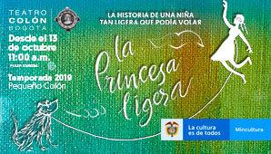 Obra LA PRINCESA LIGERA | Teatro Colon