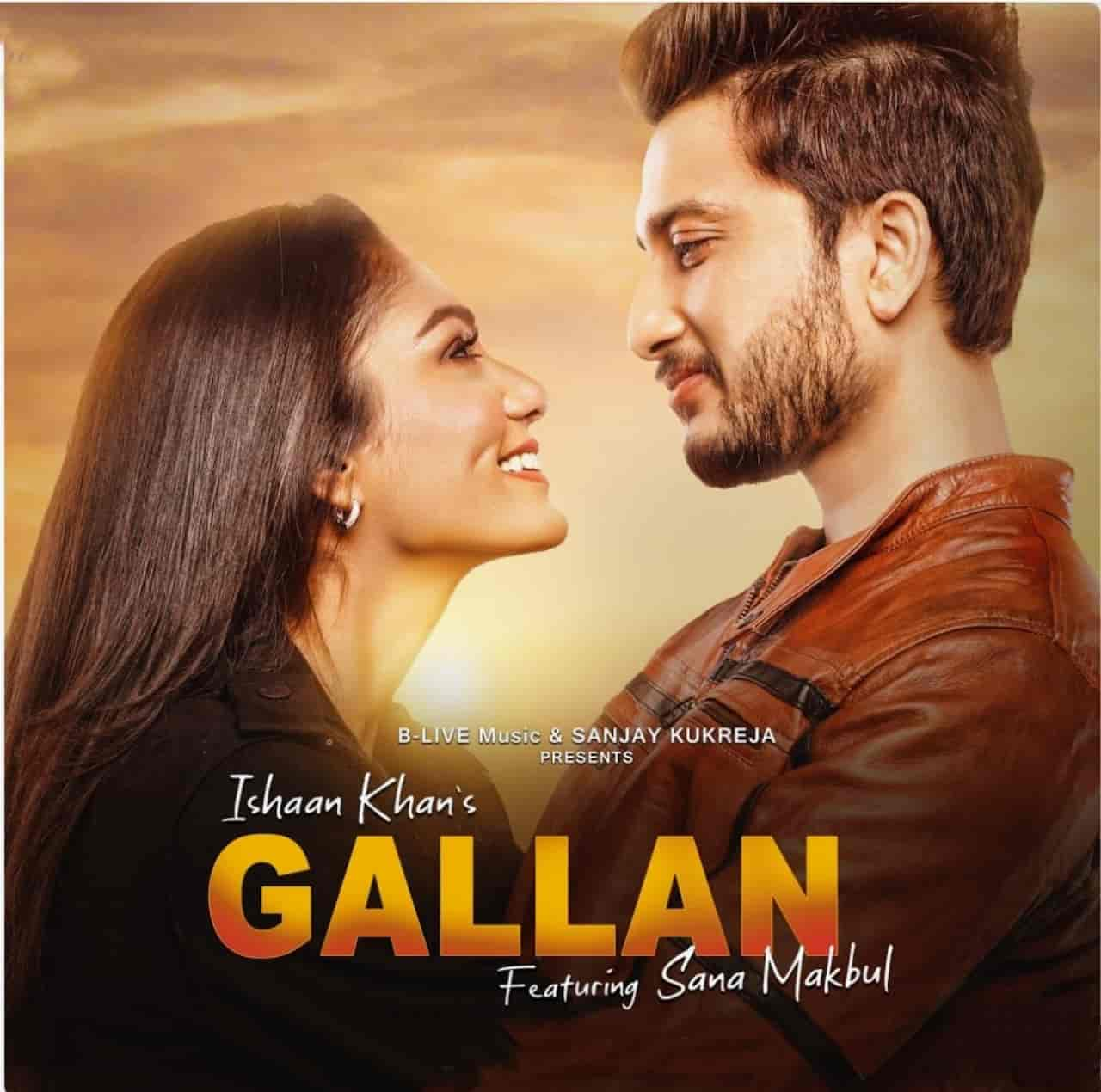 Gallan Punjabi Song Image Features Ishaan Khan And Sana Makbul