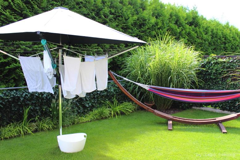 Wäsche, Leifheit, LinoProtect 400, Garten, kebo homing, Südtiroler Food- und Lifestyleblog, Styling&Photography