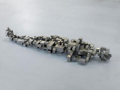 "Antony Gormley - ""Distillate V"", 2007. | imagenes obras de arte figurativo abstracto, esculturas figurativas abstractas | art pictures inspiration, cool stuff"