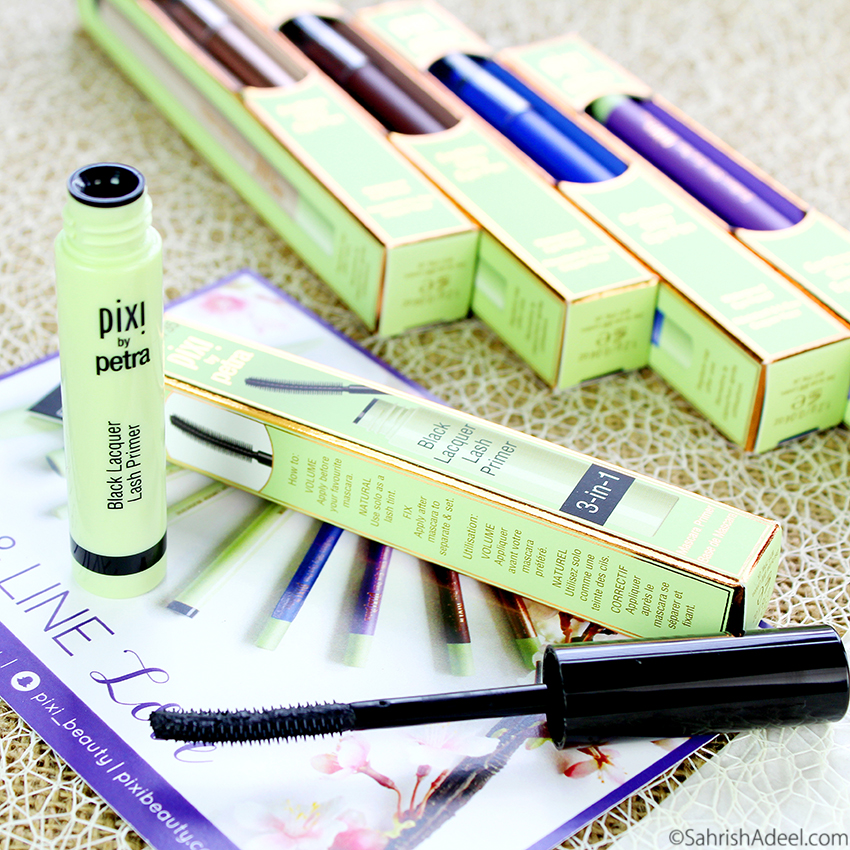 Black Lacquer Lash Primer by Pixi Beauty - Review, Before/After & Discount Code
