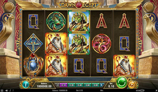 Main Slot Indonesia - Dawn of Egypt (Play N Go)