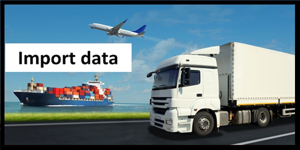 What is the importance of Import data for your business?