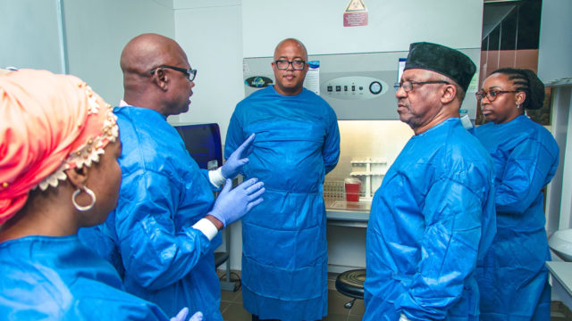 Health Minister Promises Improvement in NCDC Development