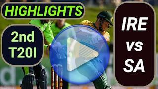 IRE vs SA 2nd T20I 2021