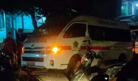 Saat Pulang Antar Pasien Covid-19, Ambulans ini Dibegal