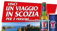 Logo Con Tennent's Super vinci zaini personalizzati e viaggio in Scozia per 2 persone
