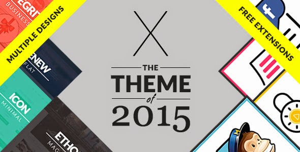 X v3.2.1 Themeforest Premium WordPress Theme