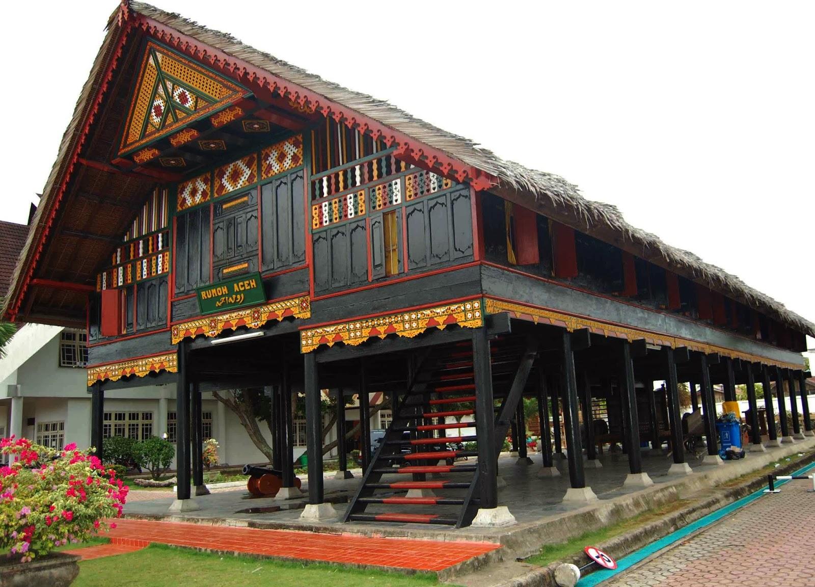 Keunikan Rumah Adat Aceh