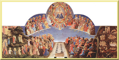 """""""The Last Judgment"""" -- by Fra Angelico - PD-1923"""