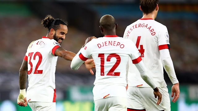 Southampton players