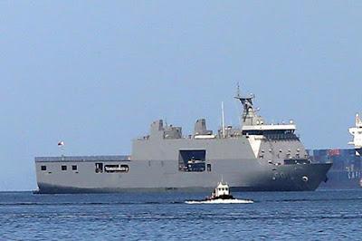 Kapal BRP Tarlac (LD-601) buatan PT PAL Indonesia