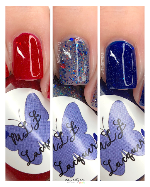 MLF Lacquer 4th of July Trio