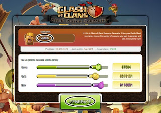 Clash of Clans Hack Gems Gold Elixir