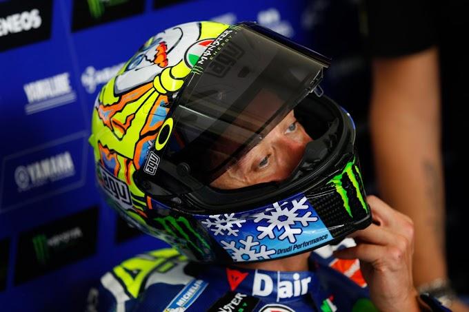 Motif Unik Helm Valentino Rossi Tes Resmi Pramusim Sepang 2016 - Winter yang Ga Dingin