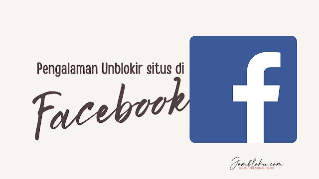 cara share situs diblokir facebook