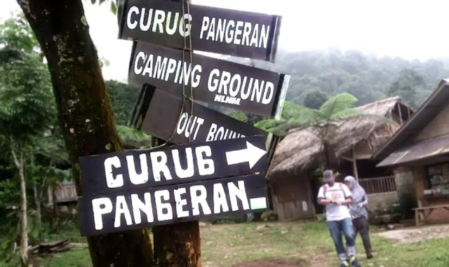 Tempat Wisata Curug Pangeran Gunung Bunder Bogor